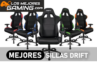Mejores sillas gaming Drift