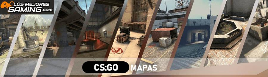 ¿Cuáles son los mapas de CS:GO?